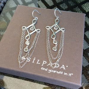Silpada Cleopatra Earrings and Necklace